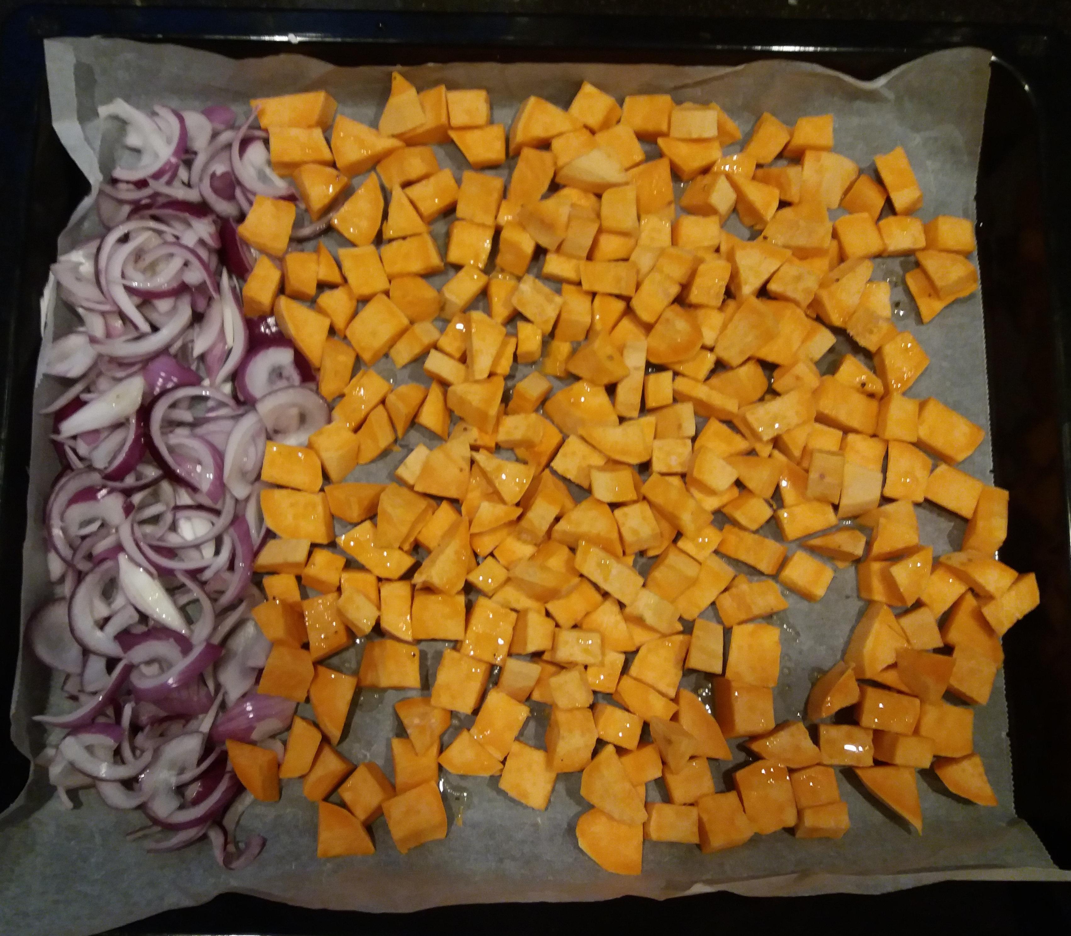 warme salade oven